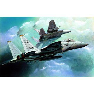 Model Kit letadlo 12609 - F-15C (1:144)