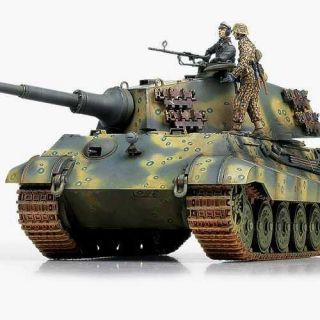 "Model Kit tank 13229 - GERMAN KINGTIGER ""LAST PRODUCTION"" (1:35)"