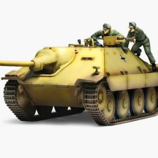 "Model Kit tank 13278 - Jagdpanzer 38(t) Hetzer ""Early Version"" (1:35)"