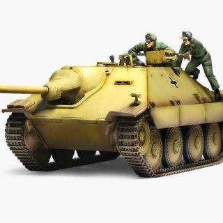 "Model Kit tank 13278 - Jagdpanzer 38(t) Hetzer ""Early Version"" (1:35)"