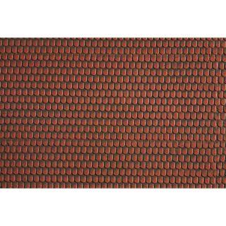 Strešná krytina, červená, 28 x 10 cm  NO57328