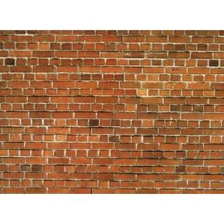 """Lepenka """"Červená tehla"""" 32 x 15 cm - 1 ks  NO57550"""