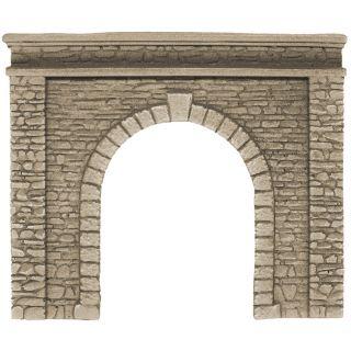 Tunelový portál - jednokoľajný, 15 x 12,5 cm  NO58061