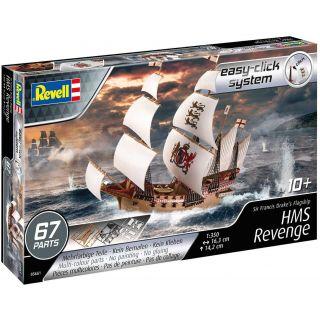 EasyClick Modelset loď 65661 - HMS Revenge (1:350)