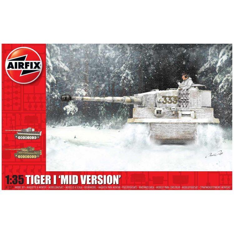 Classic Kit tank A1359 - Tiger-1, Mid Version (1:35)