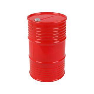Robitronic barel plastový červený