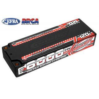 VOLTAX HiVOLT 120C LiPo Stick Hardcase-8000mAh-7.4V-G4 (59,2Wh)