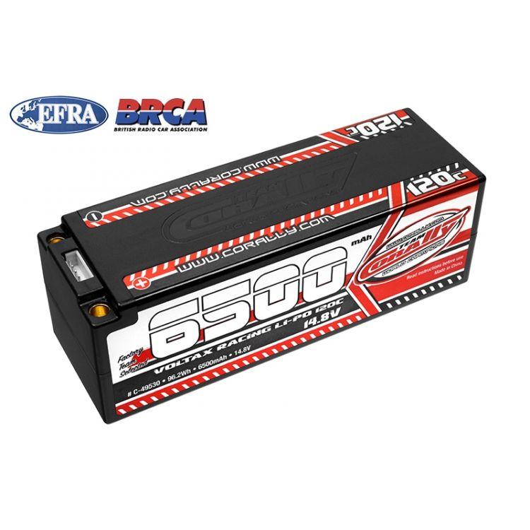 VOLTAX HiVOLT 120C LiPo Stick Hardcase-6500mAh-14.8V-G5 (96,2Wh)