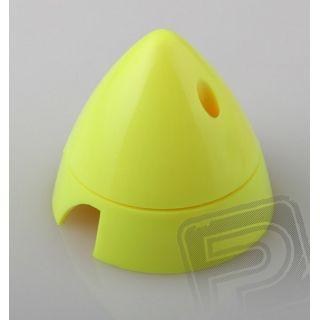 Fluor.kužel 63mm žltý 2-listov