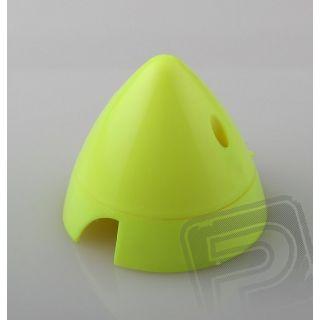 Fluorescenční kužel 70mm 2-listý, žlutá