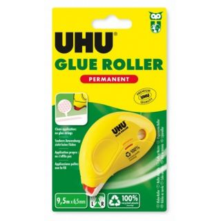 UHU Dry & Clean roller permanent 6,5mm x 8,5m