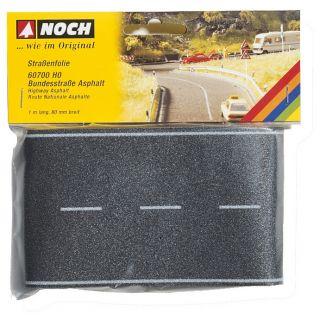 Cesta I. triedy, čierny asfalt 8cm x 1m  NO60700