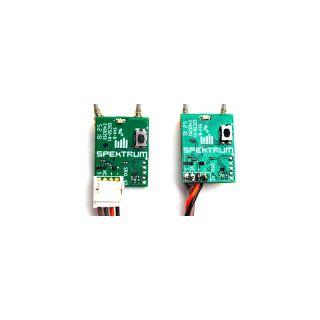 Spektrum přijímač Serial Micro SRXL2 DSMX s konektorem