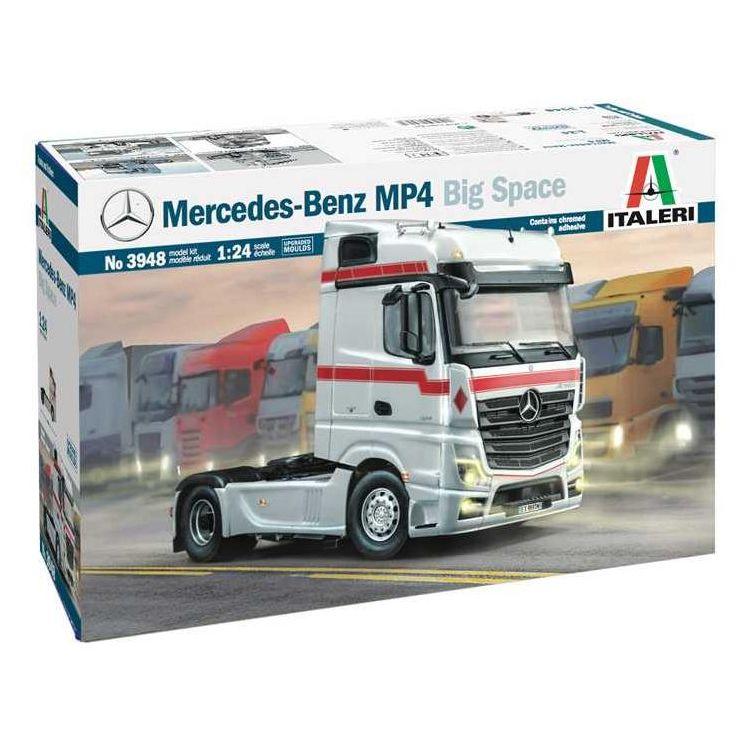 Model Kit truck 3948 - Mercedes-Benz MP4 Big Space (1:24)