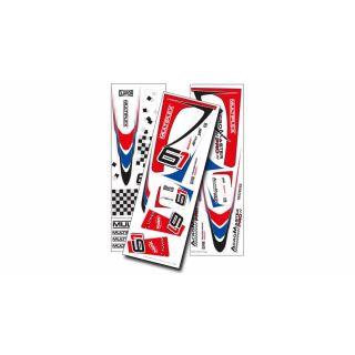 1-00856 polepy Acromaster Pro modro-červené