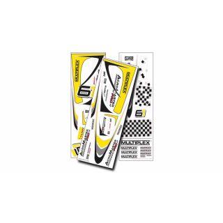 1-01012 polepy Acromaster Pro žluto-stříbrné