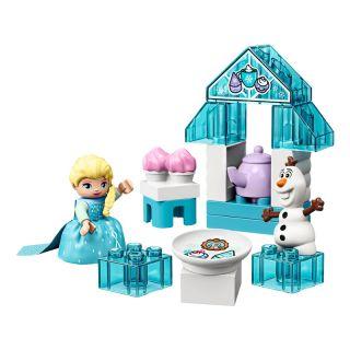 LEGO DUPLO - Čajový dýchánek Elsy a Olafa