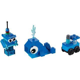 LEGO Classic - Modré kreativní kostičky