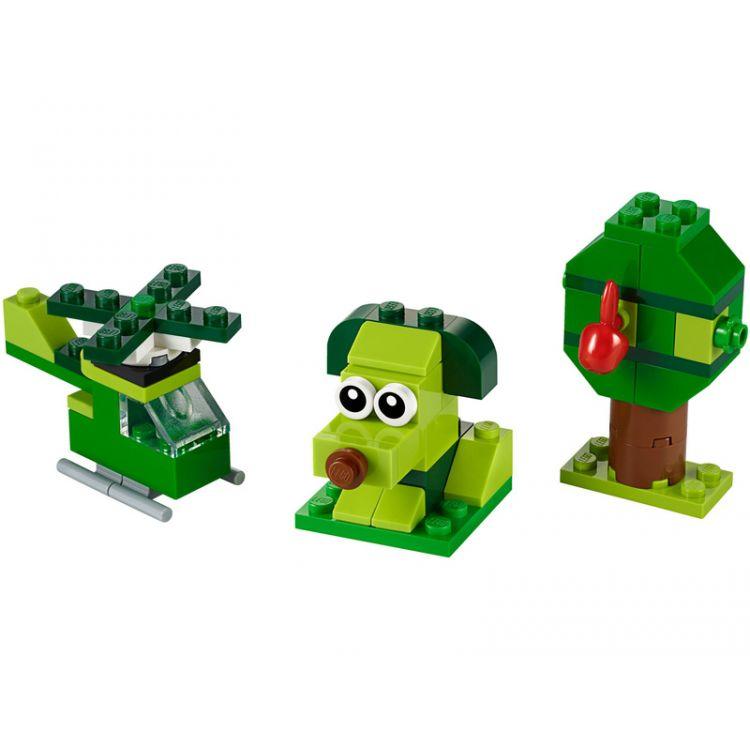 LEGO Classic - Zelené kreativní kostičky