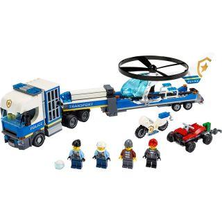 LEGO City - Přeprava policejního vrtulníku