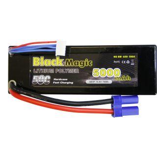 Black Magic LiPol Car 14.8V 5000mAh 50C EC5