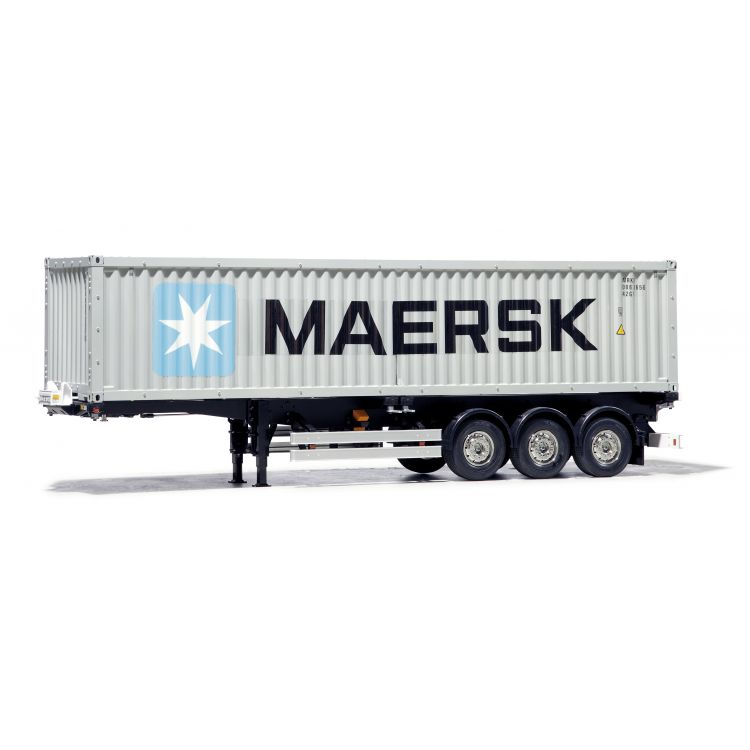 Tamiya Náves kontajnerový s 40´ kontajnerom Maersk 1/14 KIT