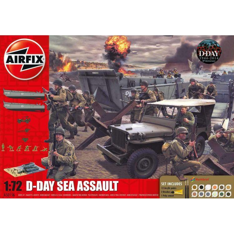 Gift Set diorama A50156A - D-Day 75th Anniversary Sea Assault (1:72)