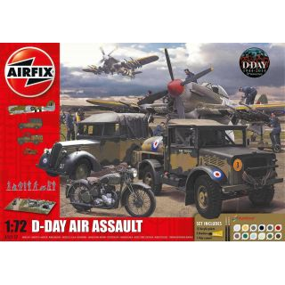 Gift Set diorama A50157A - D-Day 75th Anniversary Air Assault (1:72)