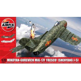 Classic Kit letadlo A03091 - Mikoyan-Gurevich MiG-17F 'Fresco' (1:72)