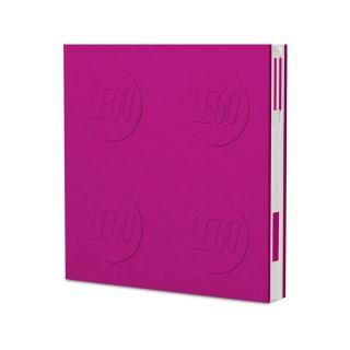 LEGO 2.0 zápisník s gelovým perem fialový