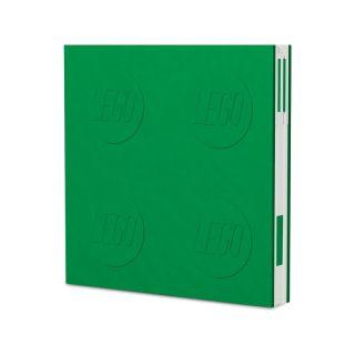 LEGO 2.0 zápisník s gelovým perem zelený