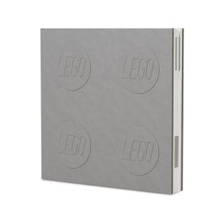 LEGO 2.0 zápisník s gelovým perem šedý
