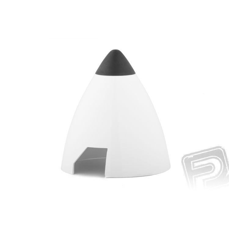 Plastový kužel 50mm bílý