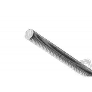 Ocelová závitová hřídel M2, 250mm, 100 ks.