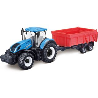 Bburago New Holland T7.315 s vlečkou