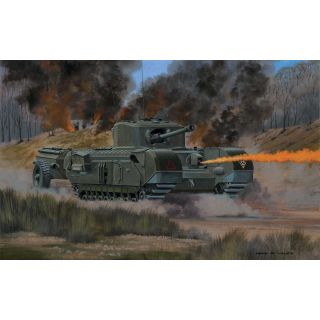 Classic Kit VINTAGE tank A02321V - Churchill Crocodile (1:76)