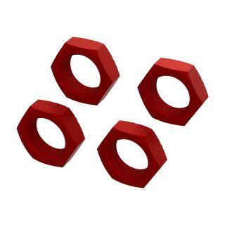Arrma matice kola 24mm, červená (4)