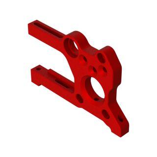 Arrma držák desky motoru hliník, červené