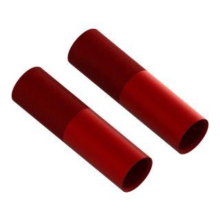 Arrma tělo tlumiče 24x88mm hliníkové červené (2)