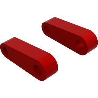 Arrma držák závěsu přední horní, červený (2)