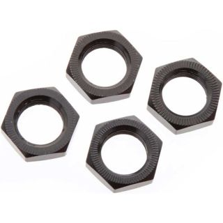 Arrma matice kola 17mm černá hlíník (4)