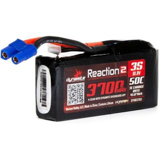 Dynamite LiPo Reaction2 11.1V 3700mAh 50C 96mm EC3