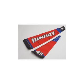 Binary - sada plachet červená