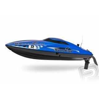 """Swordfish 17"""" brushless rychlostní člun RTR"""
