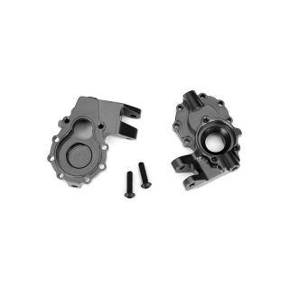 Traxxas vnitřní díl přední nápravy hliníkový šedý (2): TRX-4