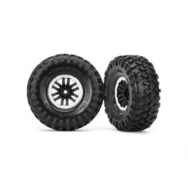 """Traxxas kolo 1.9"""", disk TRX-4 Sport černý, pneu Canyon Trail (pár)"""