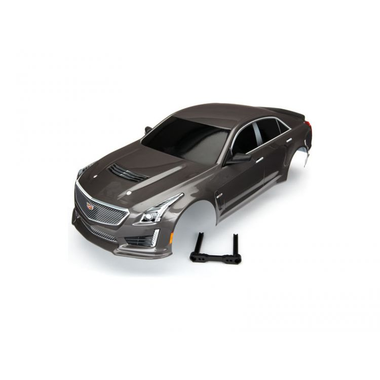 Traxxas karosérie Cadillac CTS-V stříbrná: 4-Tec 2.0