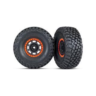 """Traxxas kolo 3.2/2.2"""", disk Desert Racer, pneu Baja KR3 (2)"""