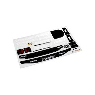 Traxxas samolepky Unlimited Desert Racer Rigid Edition