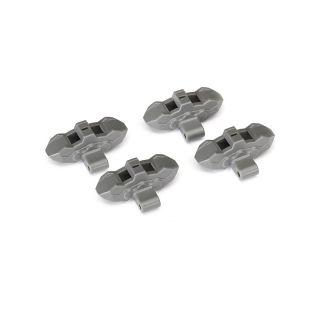 Traxxas brzdové třmeny šedé (4)